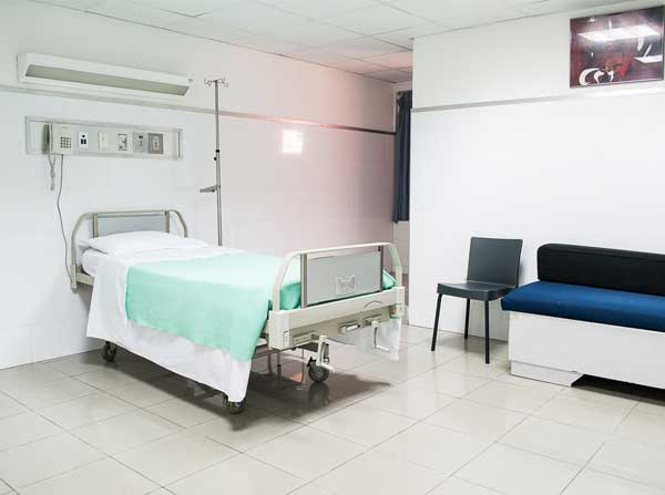 7 orange hospital provide Private room for patients